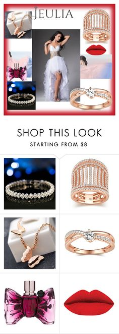 """""""Jeulia Jewelry-25"""" by nihada-niky ❤ liked on Polyvore featuring Viktor & Rolf, women's clothing, women's fashion, women, female, woman, misses, juniors, jeulia and jewelr"""