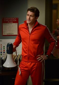 Matthew Morrison as Sue Sylvester, this was such a funny episode