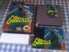 Godzilla para Nintendo NES PAL Juego Completo Versión Española