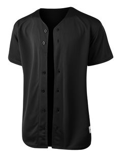 Gear up for baseball season in this full button down mesh short sleeve baseball jersey. Its perfect for outdoors activities or weekend getaways. Looks great wit Camisa Baseball, Baseball Tee Shirts, Baseball Jerseys, Baseball Scoreboard, Baseball Games, Baseball Tickets, Pirates Baseball, Baseball Quotes, Baseball Equipment