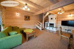 Domek Pod Reglami IIA - rozkładana 2 osobowa sofa, 42 calowy TV, kominek http://www.domek.podreglami.pl/domek_2.htm