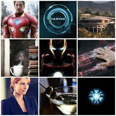 Iron man aesthetic