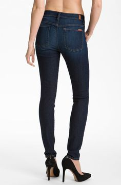 Without question the best pair of jeans I have ever owned in my life. I want them in every color (which is a tall order because there are so many)! They tuck perfectly into boots, are super comfortable, and there is even a high-waisted version! Need. more. colors.