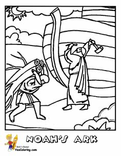 Image result for noah ark drawing gilbert pinterest for Matthew 6 25 34 coloring page