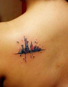 Desenhos feitos como pintura são os novos favoritos nos estúdios de tatuagem