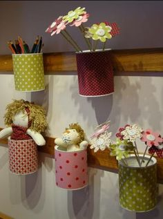 this recycled stuff is so cute and must be a project to try!