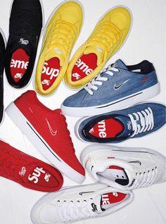 Supreme x Nike SB GTS (Spring 2015) Marque Supreme, Sneakers Reebok, Best 4ebf4e639a96
