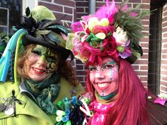 Handmade hats for carnaval / vastelaovend / karnaval bij BTstyling HOEDcouture&meer! http://www.btstyling.nl http:://www.facebook.com/beejtheunissen