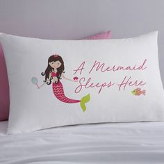 Are you interested in our mermaid gift? With our personalised mermaid gift you need look no further. Mermaid Gifts, Fairy Tales, Bed Pillows, Pillow Cases, Pillows, Fairytail, Adventure Movies, Fairytale, Adventure