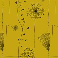Dandelion Clocks Lucienne Day http://www.classictextiles.com/pages/index.cfm/lucienne-day/#