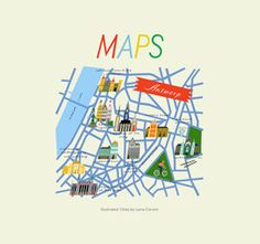 Maps Illustrated Cities by Lena Corwin contemporary books