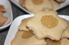 Sablés façon Cookies, à la Compote de pommes et d'amandes