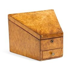 Check out this item at One Kings Lane! 19th-C. Burl Letter Box