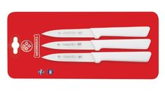 Mundial SCW05474 4Inch Paring Knife Collection Set of 3 White ** See this great product.