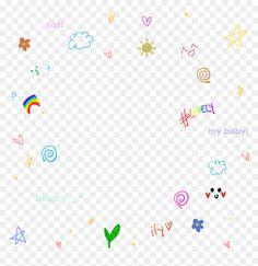 Overlays Cute, Overlays Tumblr, Cute Pastel Wallpaper, Cute Patterns Wallpaper, Aesthetic Themes, Aesthetic Anime, Overlays Instagram, Instagram Frame Template, Cute Borders