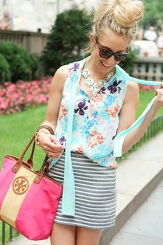 Mixing prints – c'est magnifique! What are your favorite prints to mix and match?