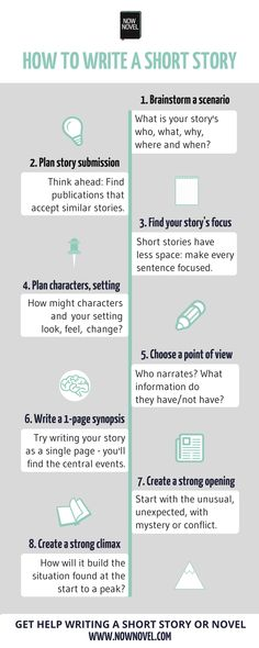 Writing short stories is great practice for novels.