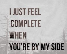 Complete by Danie James/ perfect sayings for the right person