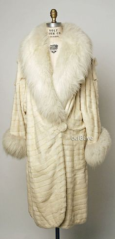 Fur & Silk - Late 1920's - The Metropolitan Museum of Art