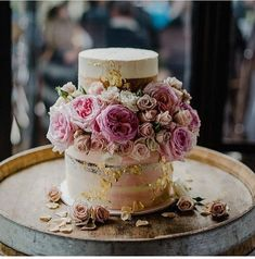 Wedding Theme 100 Pretty Wedding Cakes To Inspire You - Fabmood Nautical Wedding Cakes, Pretty Wedding Cakes, Elegant Wedding Cakes, Wedding Cake Designs, Pretty Cakes, Wedding Themes, Beautiful Cakes, Amazing Cakes, Wedding Colors