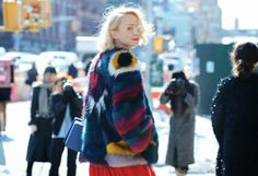 Lace and Roll : 10 looks de las calles de New York ------------más en http://www.laceandroll.com/2014/02/10-looks-de-las-calles-de-new-york.html