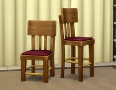 Old Local Comfy Dining Chair by plasticbox at Mod The Sims • Sims 4 Updates