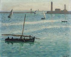 Albert Marquet - Brise sur le port de Sète (1924)