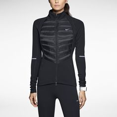 Nike Aeroloft Hybrid Womens Running Jacket. Nike Store