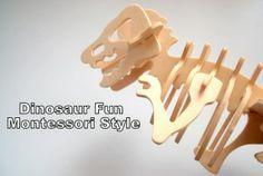 Montessori Inspired Activities – Dinosaur Fun