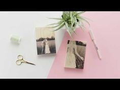 Two easy way to transfer a photo onto wood! Working with @CanonUSA #CraftywithCanon #sponsored