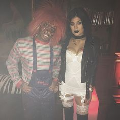 Kylie Jenner shared a picture of her Halloween costume on Instagram.