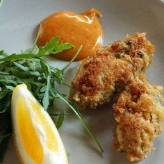 French-fried oysters recipe.This delicious oysters recipe belongs to French cuisine.Very easy to cook.