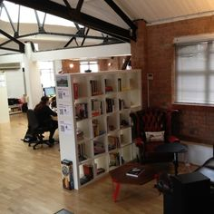 Our Anobii office library and reading nook.
