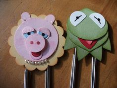 Julia's Cards: miss piggy & kermit!!!!