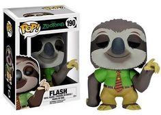 Flash Zootopia Zootropolis Vinyl Figurine Funko POP Disney | eBay