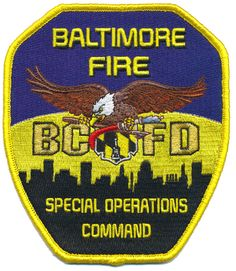 BALTIMORE CITY FIRE DEPARTMENT SPECIAL OPERATIONS COMMAND