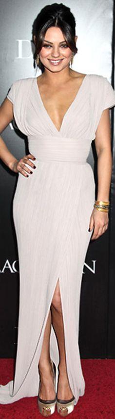 Mila Kunis in Elie Saab dress