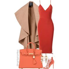 A fashion look from July 2015 featuring Schutz sandals, Hermès handbags and R.J. Graziano earrings. Browse and shop related looks.