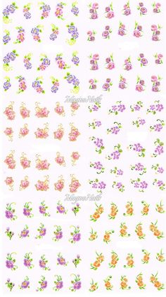 Nail Art One Stroke Sticker - Profi Nageldesign Shop - Nail Art - Naildesign