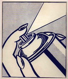 roy lichtenstein - textures for paintings