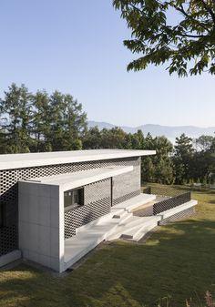 House in Gyopyeong-Ri by Studio Origin / Gangsang-myeon, Yangpyeong-gun, Gyeonggi-do, South Korea