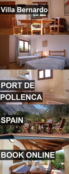 Hotel Villa Bernardo in Port de Pollenca, Spain. For more information, photos, reviews and best prices please follow the link. #Spain #PortdePollenca #travel #vacation #hotel