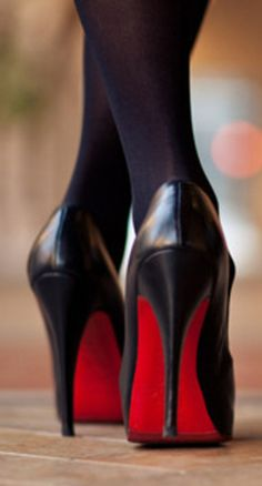 It's time for a pair of Christian Louboutin. Gorgeous!