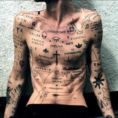 Tattoo Trends 2019 Handpoke Technique Ugly Tattoos - New Tattoo Trend Mom Tattoo Designs, Sketch Tattoo Design, Tattoo Sketches, Hand Tattoos For Guys, Boy Tattoos, Line Tattoos, Hand Tats, Rebellen Tattoo, Cover Tattoo