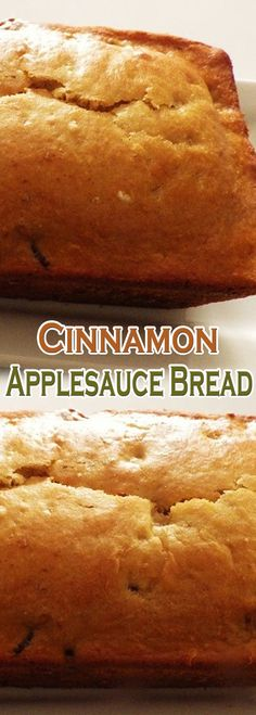 Cinnamon Applesauce Bread Pastry Recipes, Bread Recipes, Dessert Recipes, Cooking Recipes, Apple Recipes, Bread Cake, Dessert Bread, Bread Food, Cat Bread