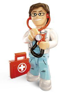 Pracownicy służby zdrowia w Action Town to lekarze z powołania. Każdemu udzielą pomocy, na czas zjawią się wszędzie tam, gdzie są potrzebni. Dysponują świetnym sprzętem, dzięki któremu mogą dotrzeć w każde miejsce. Zobacz helikopter ratunkowy, karetkę pogotowia i sprzęt medyczny, który znajduje się w szpitalu miejskim https://www.pinterest.com/cobitoys/co-i-gdzie-mo%C5%BCesz-znale%C5%BA%C4%87-w-action-town/