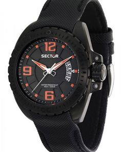 Fantastic watches meet affordability. Sector Commando, 10 atm waterproof €189,- for €95,- www.megawatchoutlet.com Brand Name Watches, Sport Watches, Watches For Men, Vintage Leather, Black Leather, Saddle Leather, Leather Watch Bands, Watch Brands, Apple Watch Bands