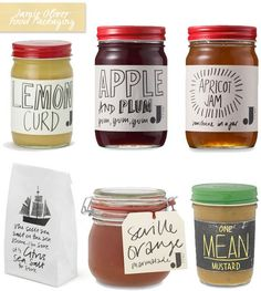 jam handmade style packaging