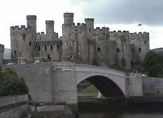 Conwy Castle, World heritage in England
