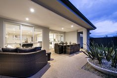 Gorgeous outdoor alfresco areas © Ben Trager Homes Australia House, Western Australia, Living Room Extension Ideas, Alfresco Designs, Alfresco Area, Archi Design, Two Storey House, Grey Walls, Home Builders